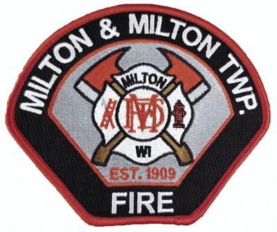 Milton fire department patch