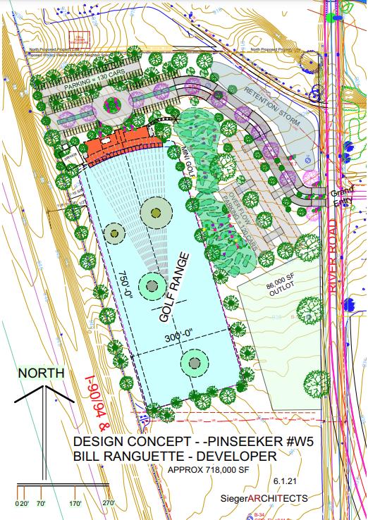 Pinseekers proposed design