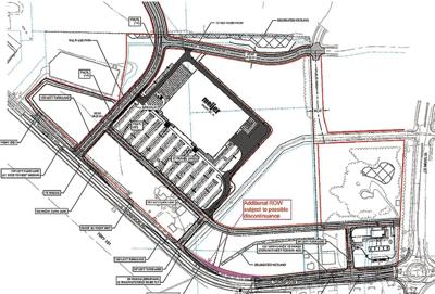 Meijer site plan for Schneider property (2019)
