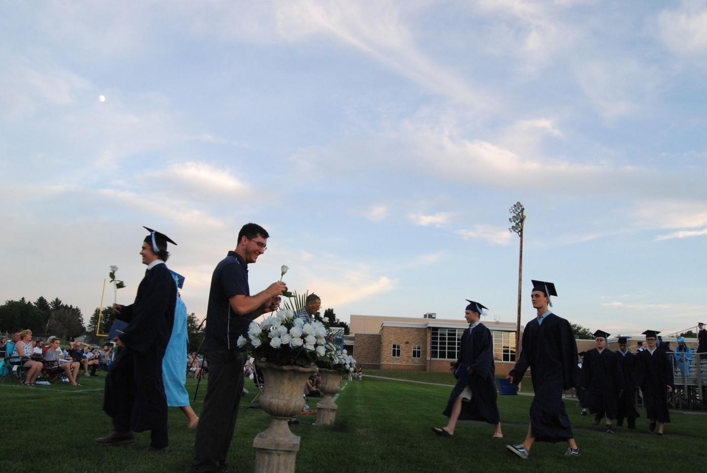 Lakeside graduates finally...