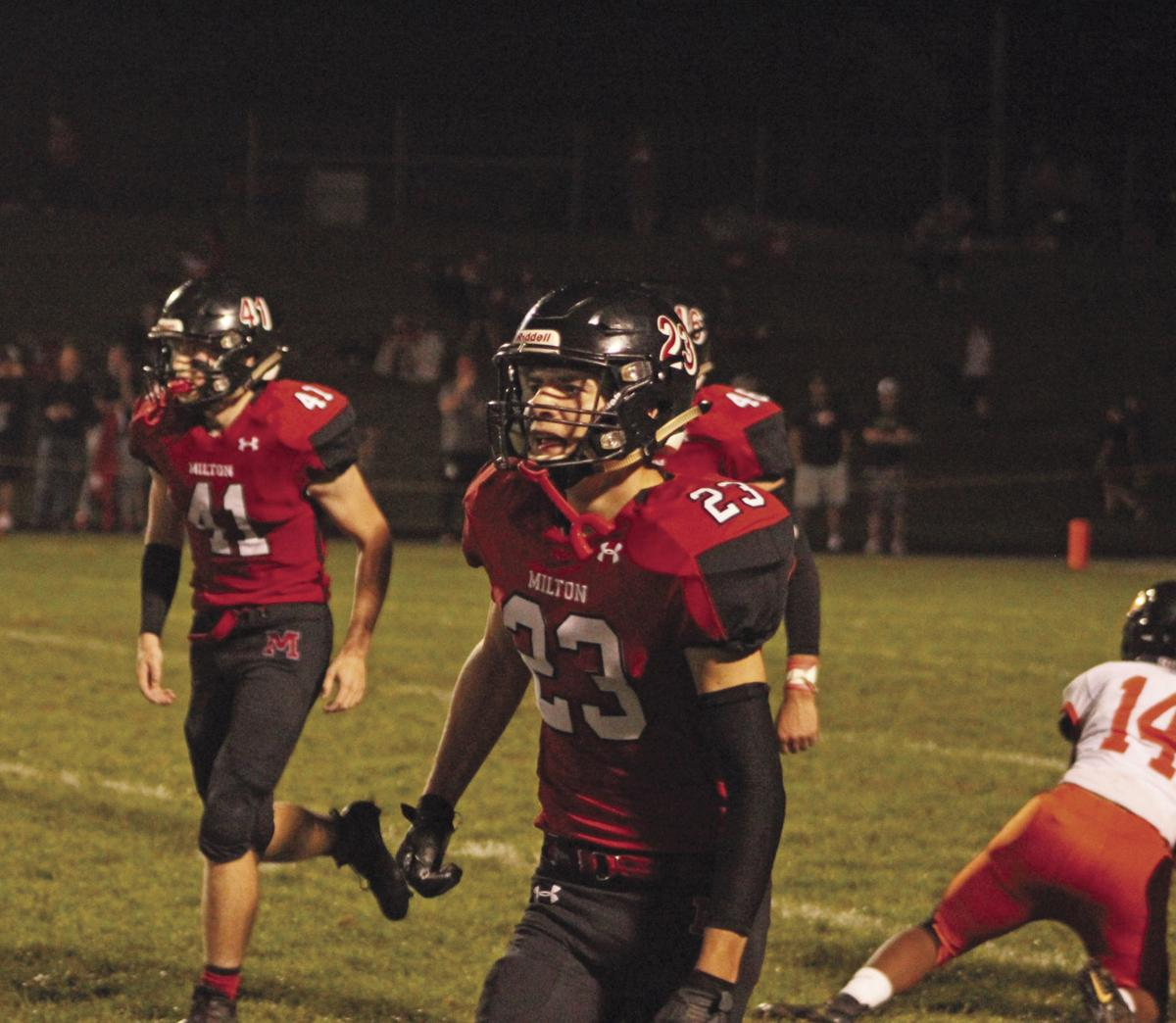 Football: Red Hawks continue to be top dog