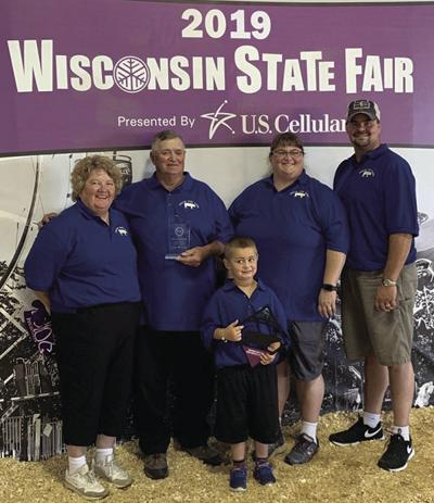 Skalitzkys honored at state fair