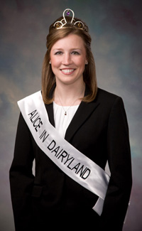 65th Alice in Dairyland Rochelle Ripp