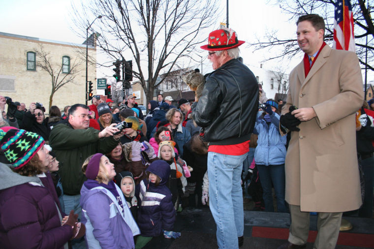 Mayor at Groundhog Day 2012