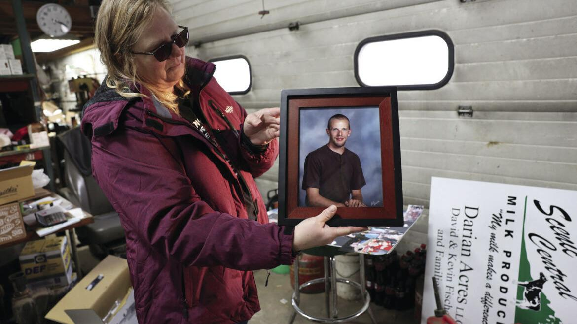 Wisconsin dairy farmers face mental health crisis
