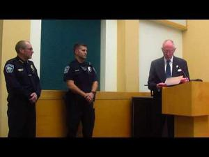 Royce Sessums honored for military service -- 3-6-2018