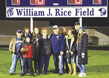 Bill Rice and family