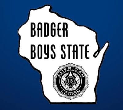 Badger Boys State logo (2019)