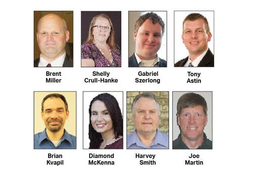 Primary will narrow eight school board candidates to six