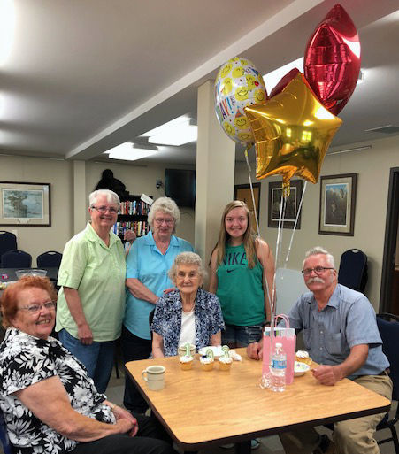 Alice Lanzendorf celebrates 103rd birthday at Reach out Lodi