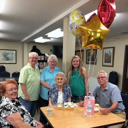 Alice Lanzendorf celebrates 103rd Birthday at Reach Out Lodi