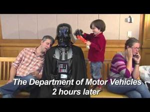 Chad Vader Voter ID Video