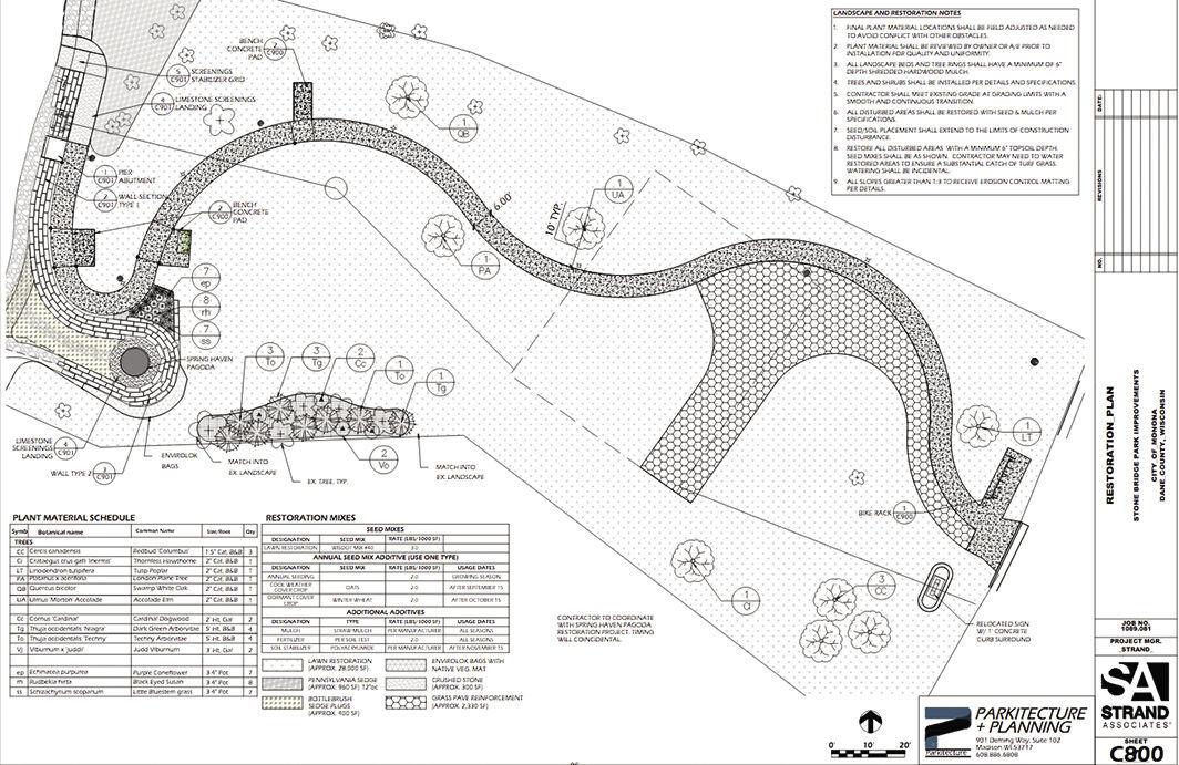 Stone Bridge Park Renovation Plan