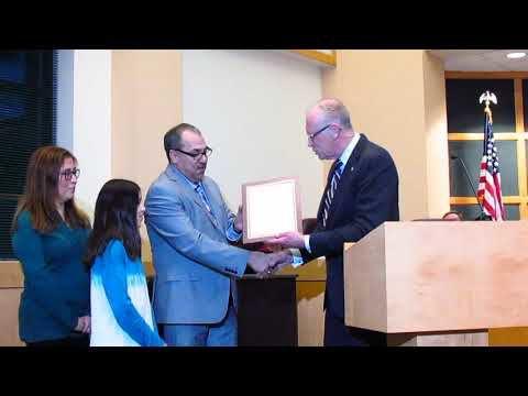 Pedro Albiter proclamation -- 12-4-2018 Sun Prairie City Council meeting