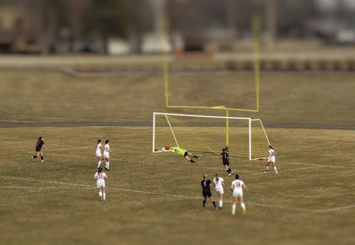 Soccer dominates Watertown in home opener