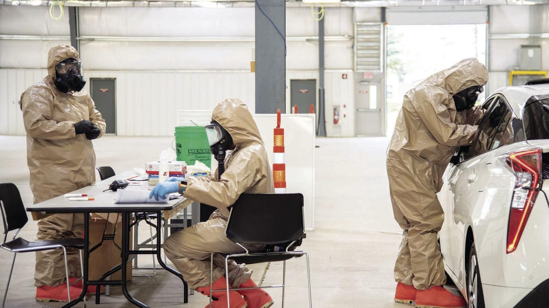 COVID testing operation to end at Alliant Energy Center