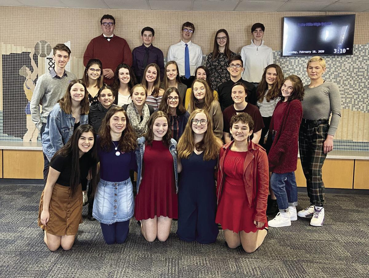 LMHS Forensics team place second