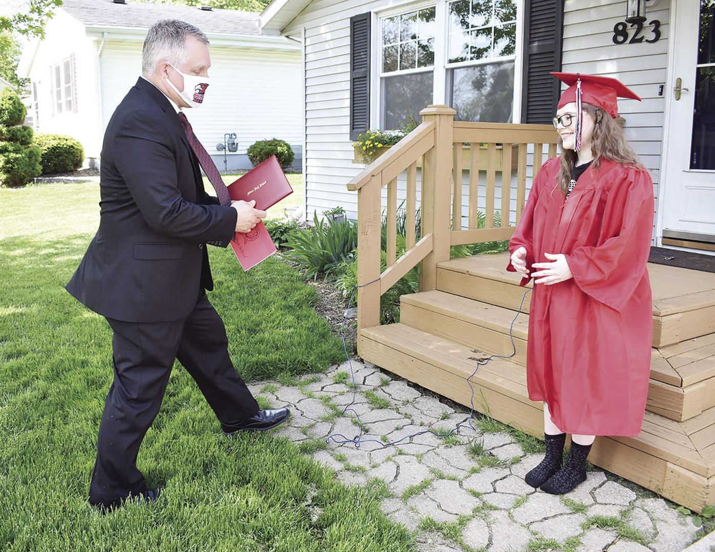 Diploma delivery