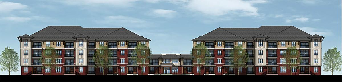 Proposed apartments near Cabela's