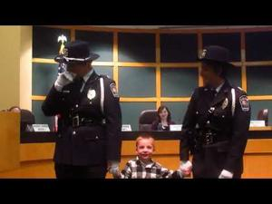 2017 Officer of the Year presentation -- 3-6-2018