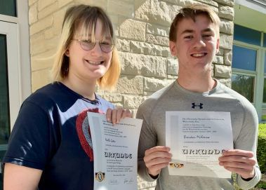 Lakeside students win German award