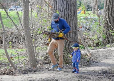 Maywood trail volunteers
