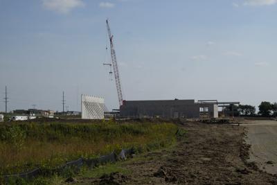 Grand Avenue site progress