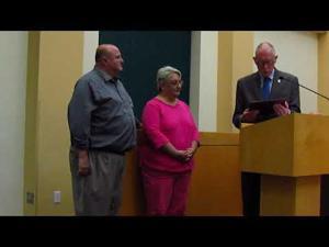 Pat Ross receives James J. Reininger Lifetime Achievement Award -- 10-3-2017