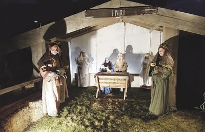 Live Nativity at First Presbyterian