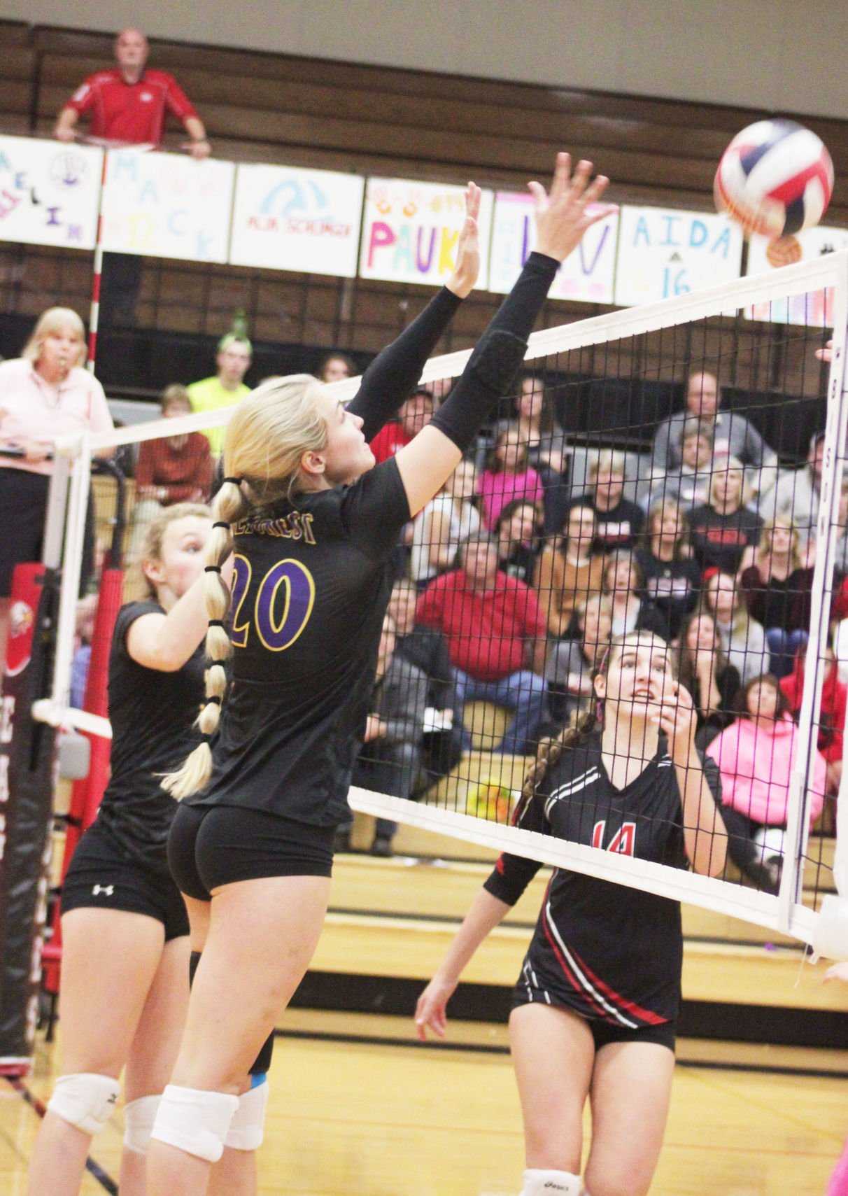 Lady Norskies win five game thriller over Sauk Prairie