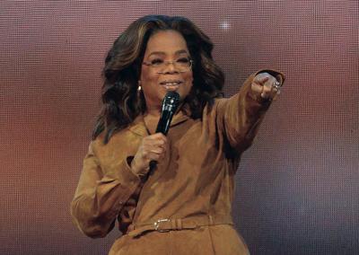 Virus Outbreak-Oprah Winfrey