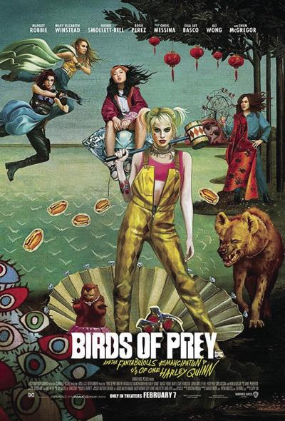 "Movie Review: ""Birds of Prey (And the Fabtabulous Emancipation of One Harley Quinn)"""