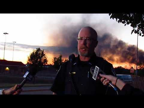 Downtown Sun Prairie fire -- 7-10-2018 -- 9 p.m. Press Briefing