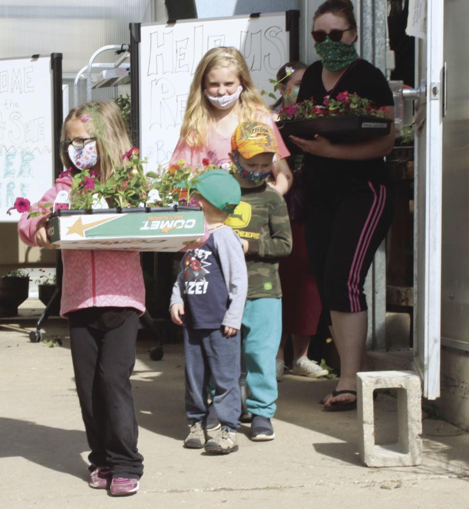 Flower helpers