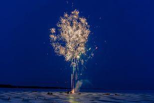 Fireworks on ice