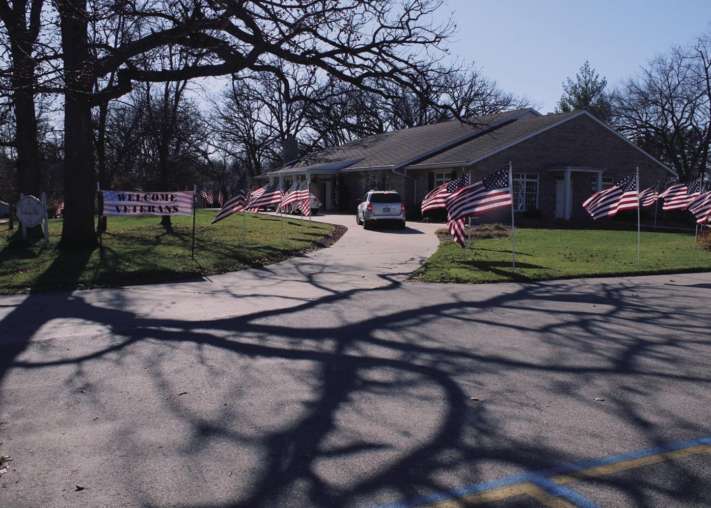 Veterans Day in Milton