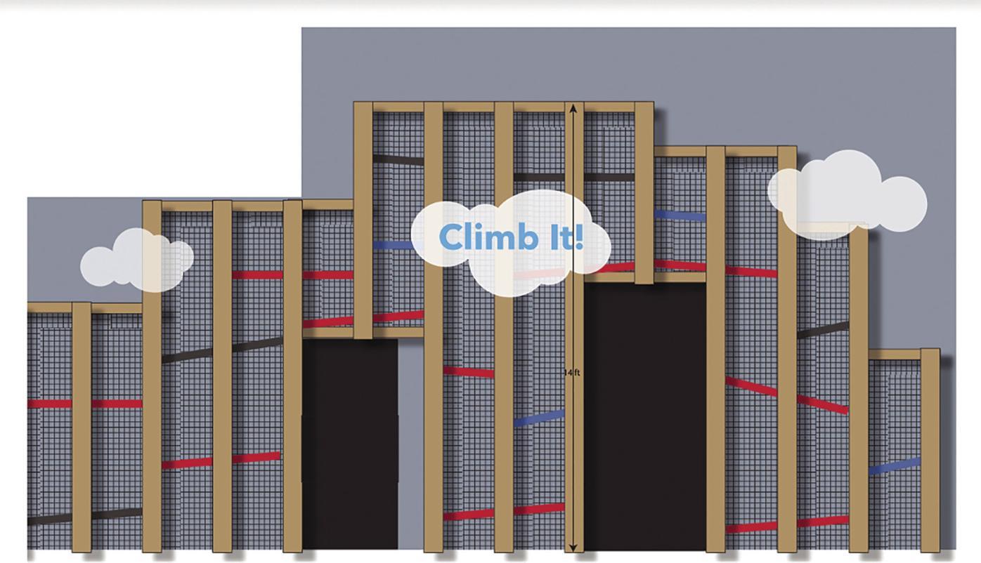 'Climb It' Climbing Structure