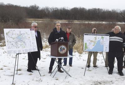 Announcement of trail expansion