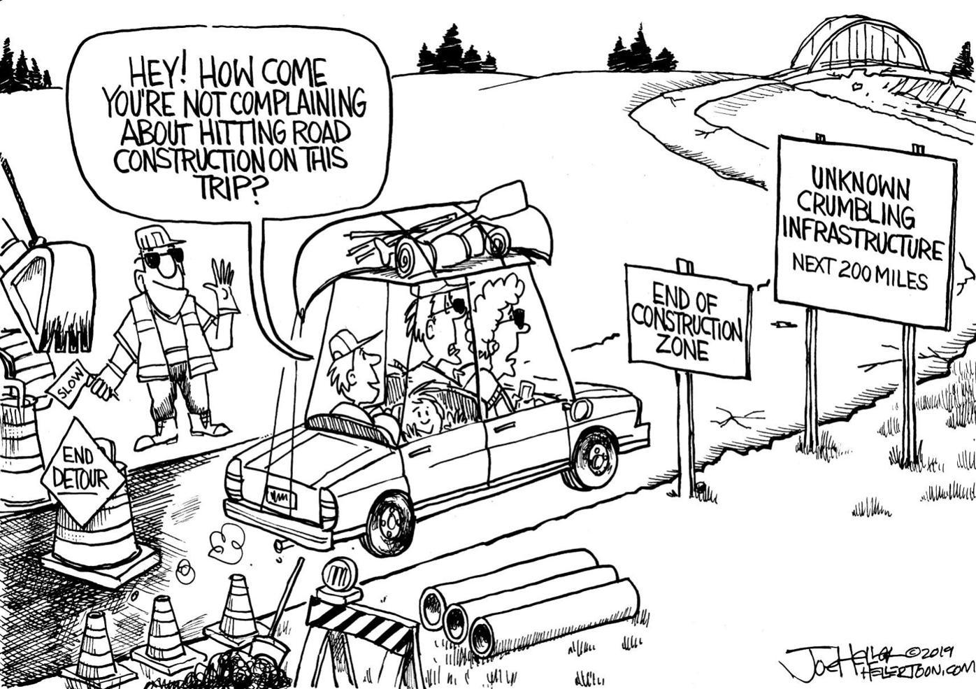 No complaints about road work?