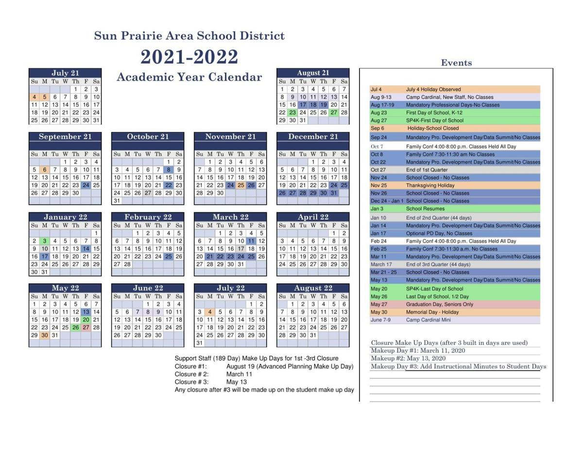 2021-22 SPASD Calendar (approved)