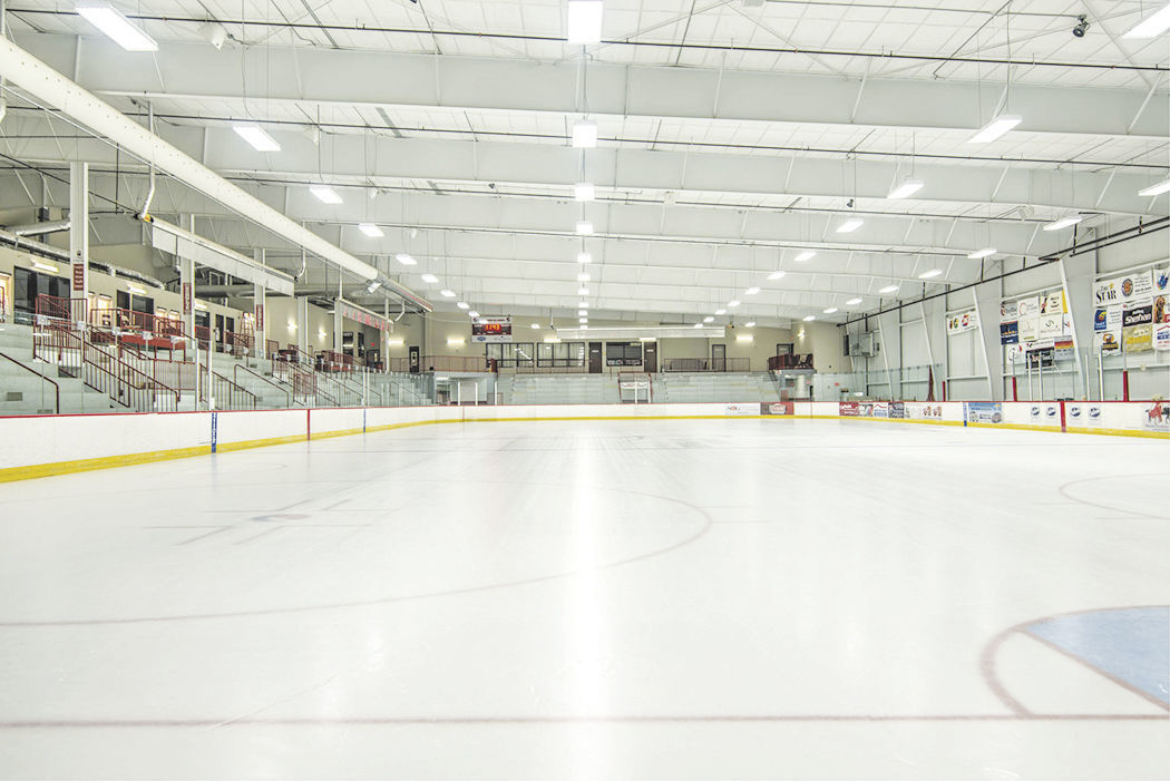 ICE ARENA INSIDE