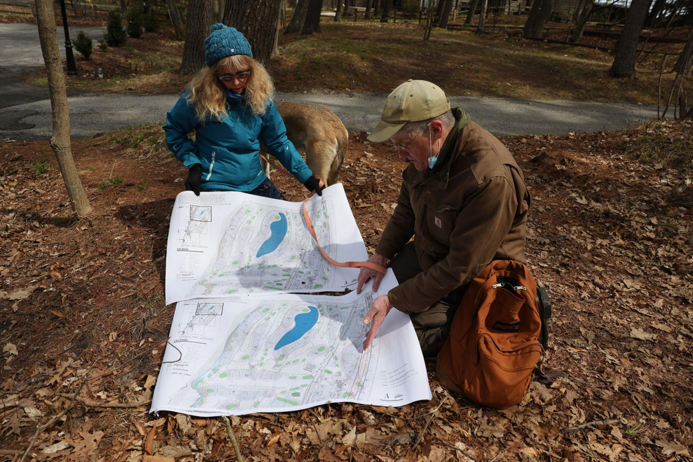 Human remains found on proposed golf course site