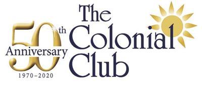 Colonial Club 50th Anniversary Logo (2020)