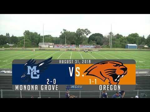 Monona Grove Football vs Oregon 8/31/18