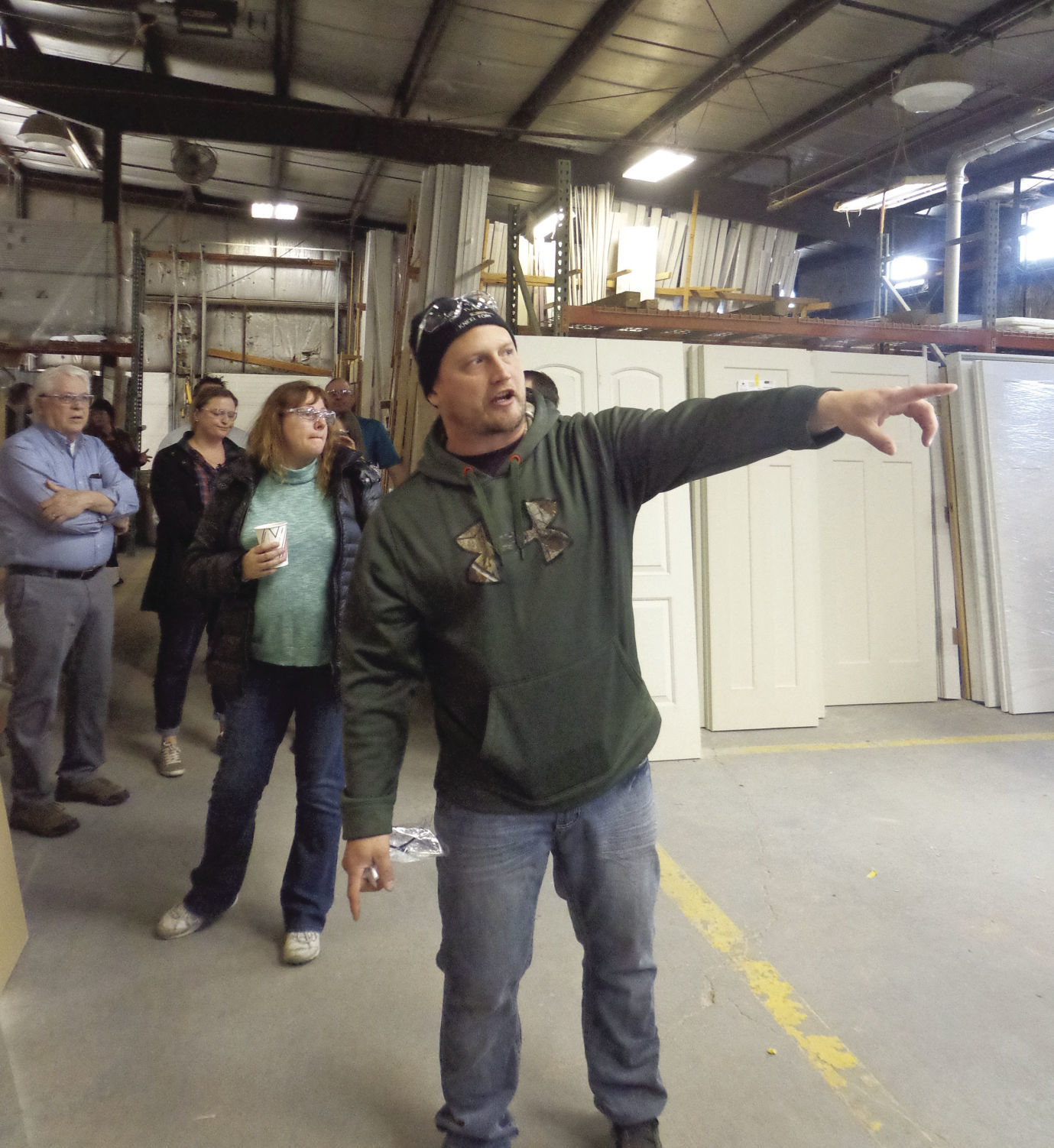 Members Of The Marshall Area Business Association (MABA) Took A Tour Of Auburn  Ridge During Their Monthly Meeting April 12. The Marshall Business That  Makes ...