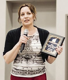 Hurley named Chamber Member of the Year (2020)