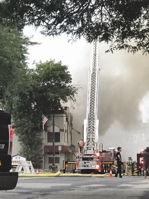 July 10 downtown Sun Prairie natural gas explosion
