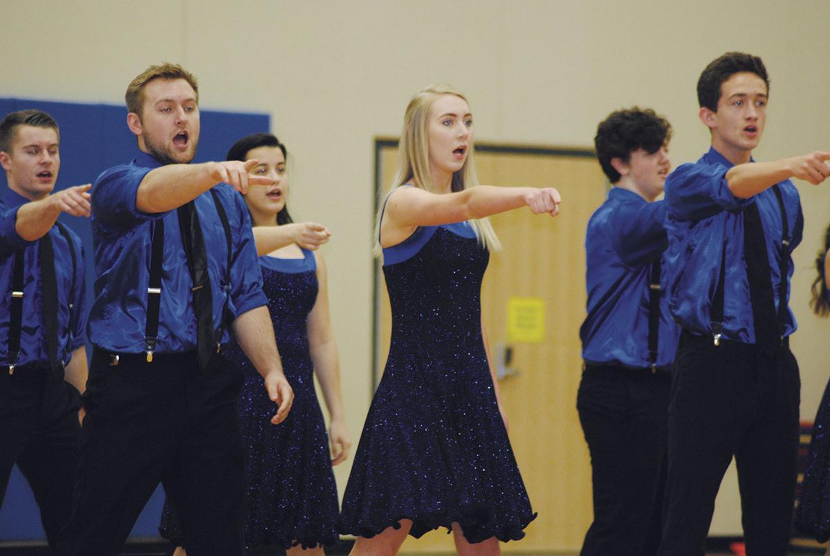 Show choir performs