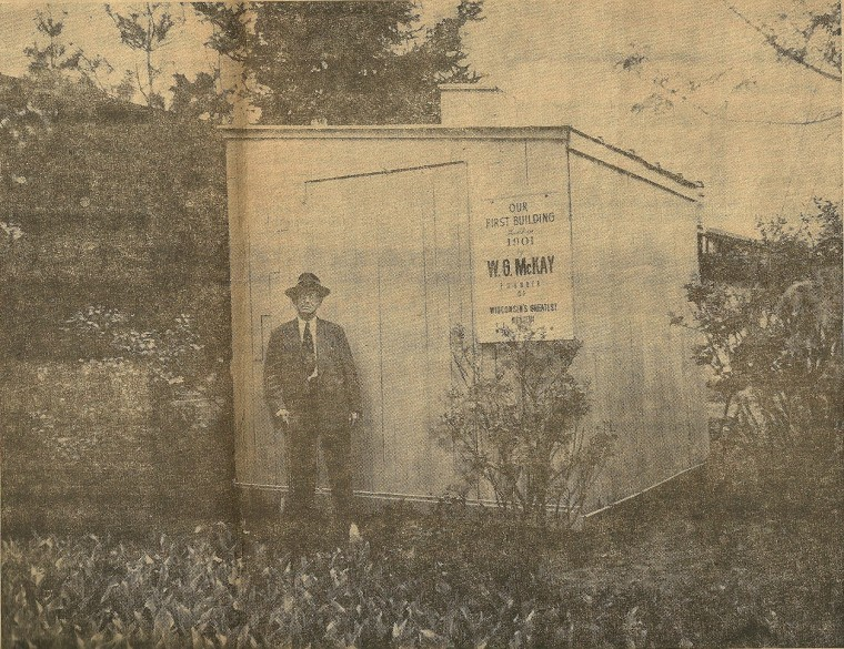 The first McKay nursery building