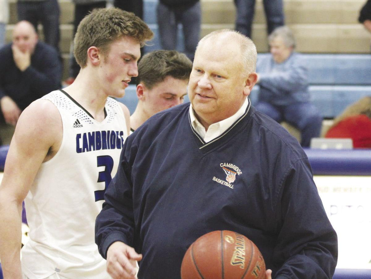 Cambridge's Leadholm headed for Basketball Coaches Hall of Fame
